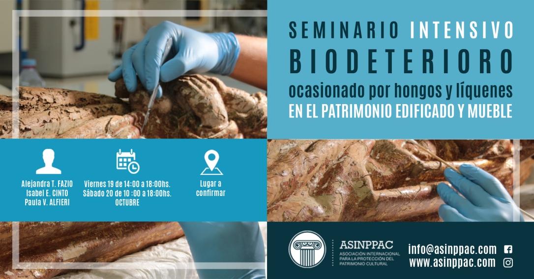 Seminario Intensivo - Biodeterioro ocasionado por hongos y líquenes en el patrimonio edificado y mueble.jpg