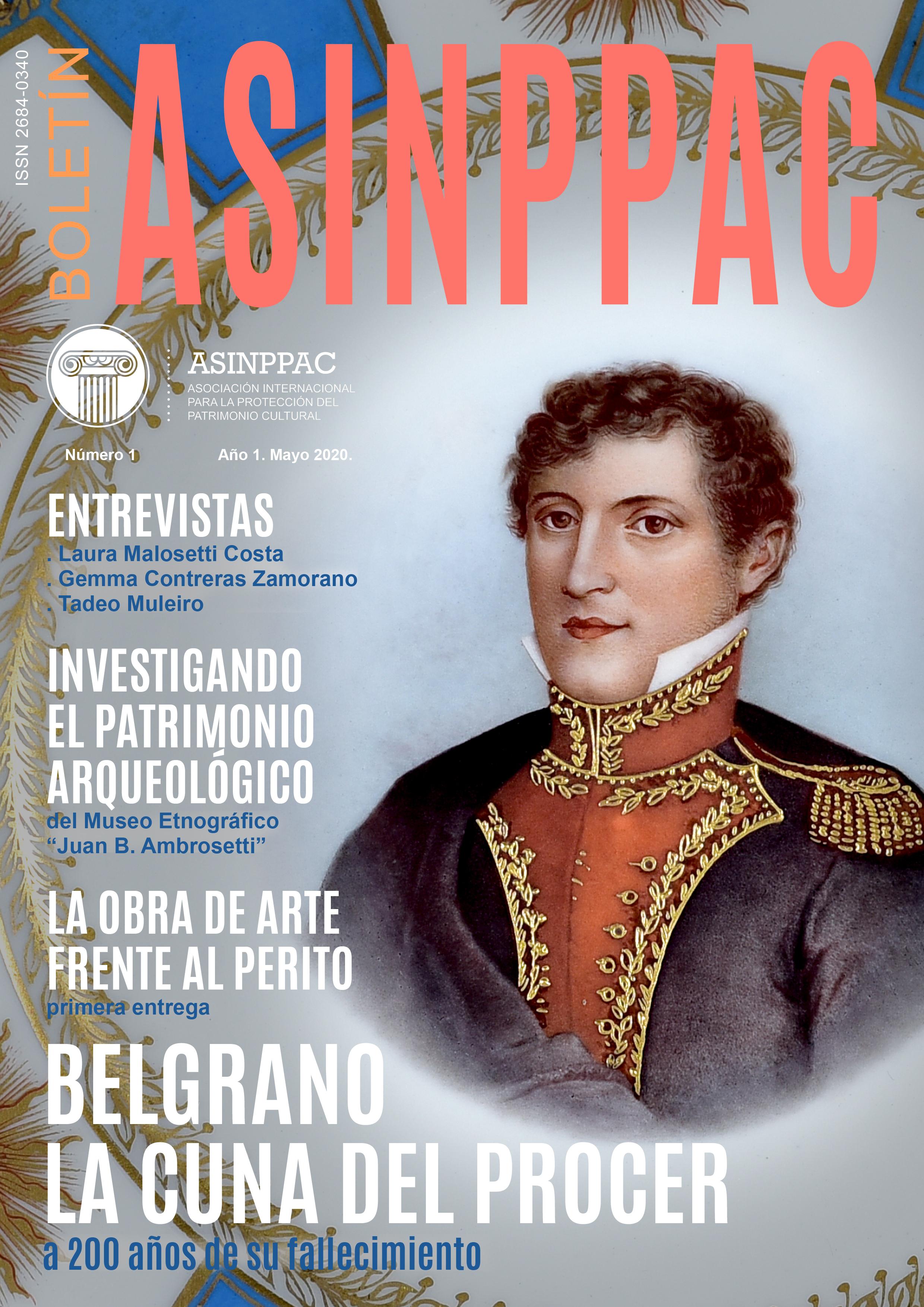 Boletín ASINPPAC Nº1 Cubierta